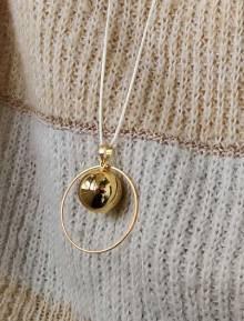 bola de grossesse en or
