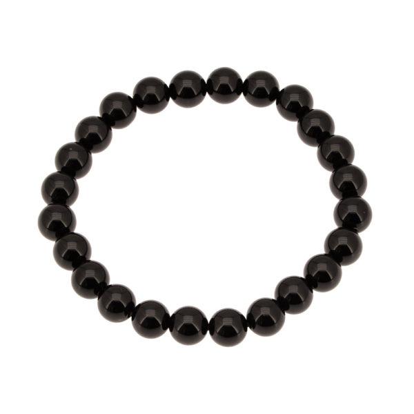 Bracelet Obsidienne A 8 mm