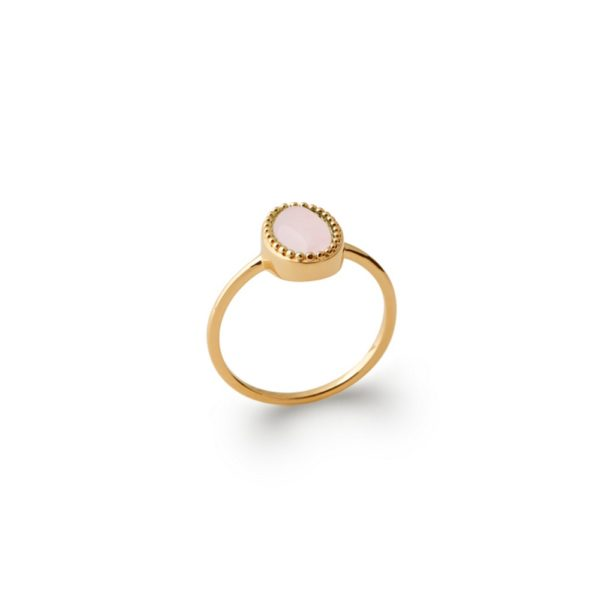 Bague Véga Quartz Rose