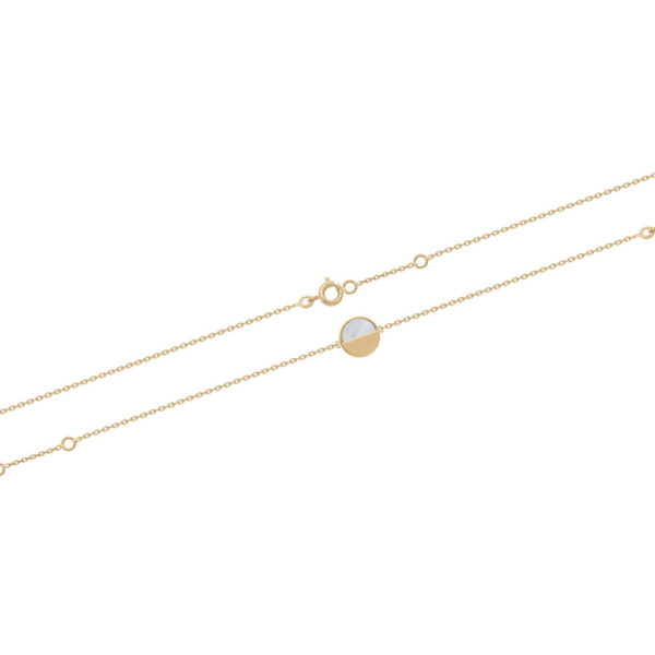 Bracelet Antarès - Plaqué Or et Nacre