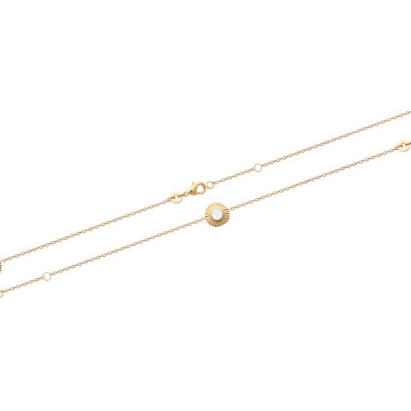 Bracelet Atria - Plaqué Or et Nacre