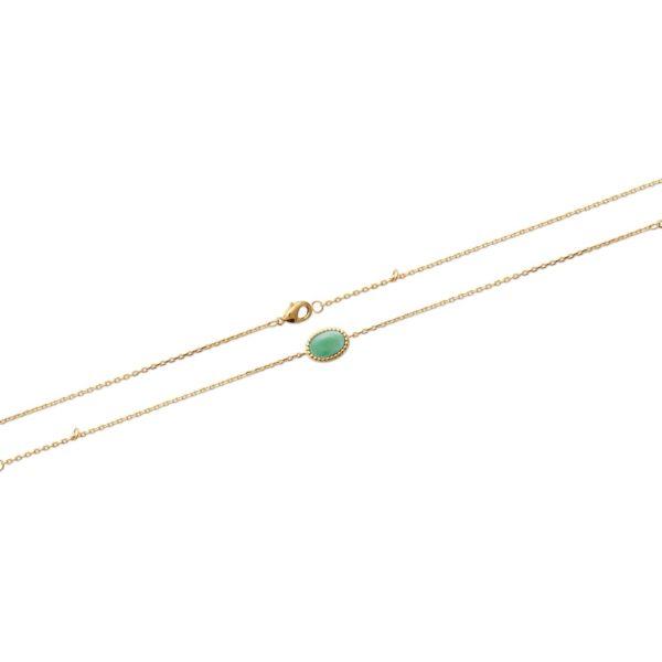 Bracelet Véga - Plaqué Or et Aventurine