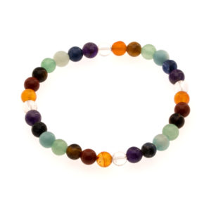 7 chakras bracelet 6 mm