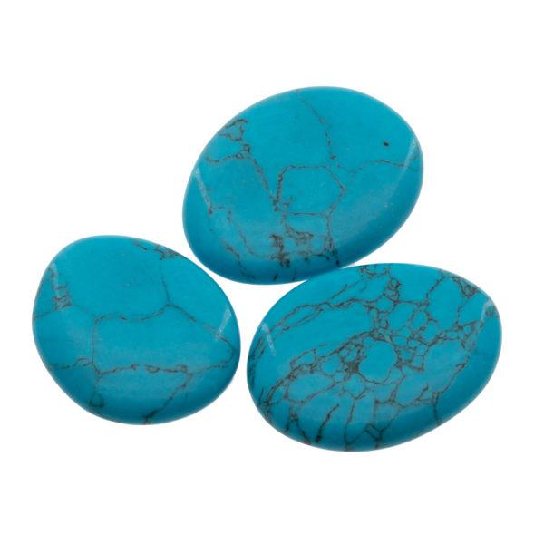 Lot de Galets Howlite Turquoise