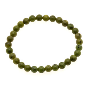 Bracelet Jade Néphrite A 6mm