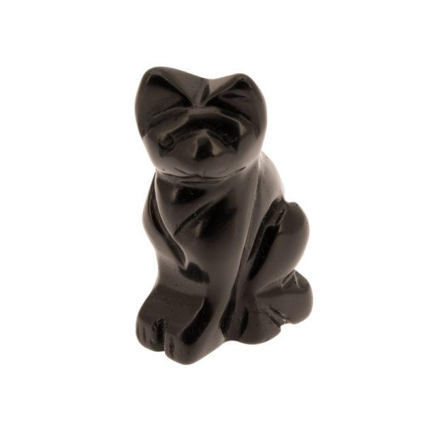 Chat en Obsidienne Face