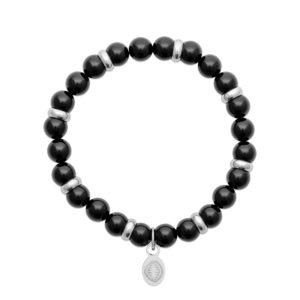 Bracelet Agate et Acier