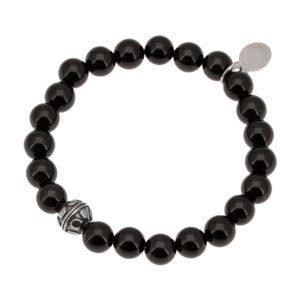 Bracelet Bien Etre Agate Noire